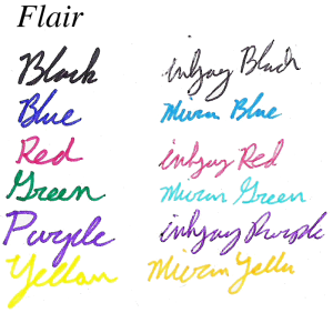 Papermate flair colors part 1