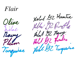 Papermate flair colors part 3