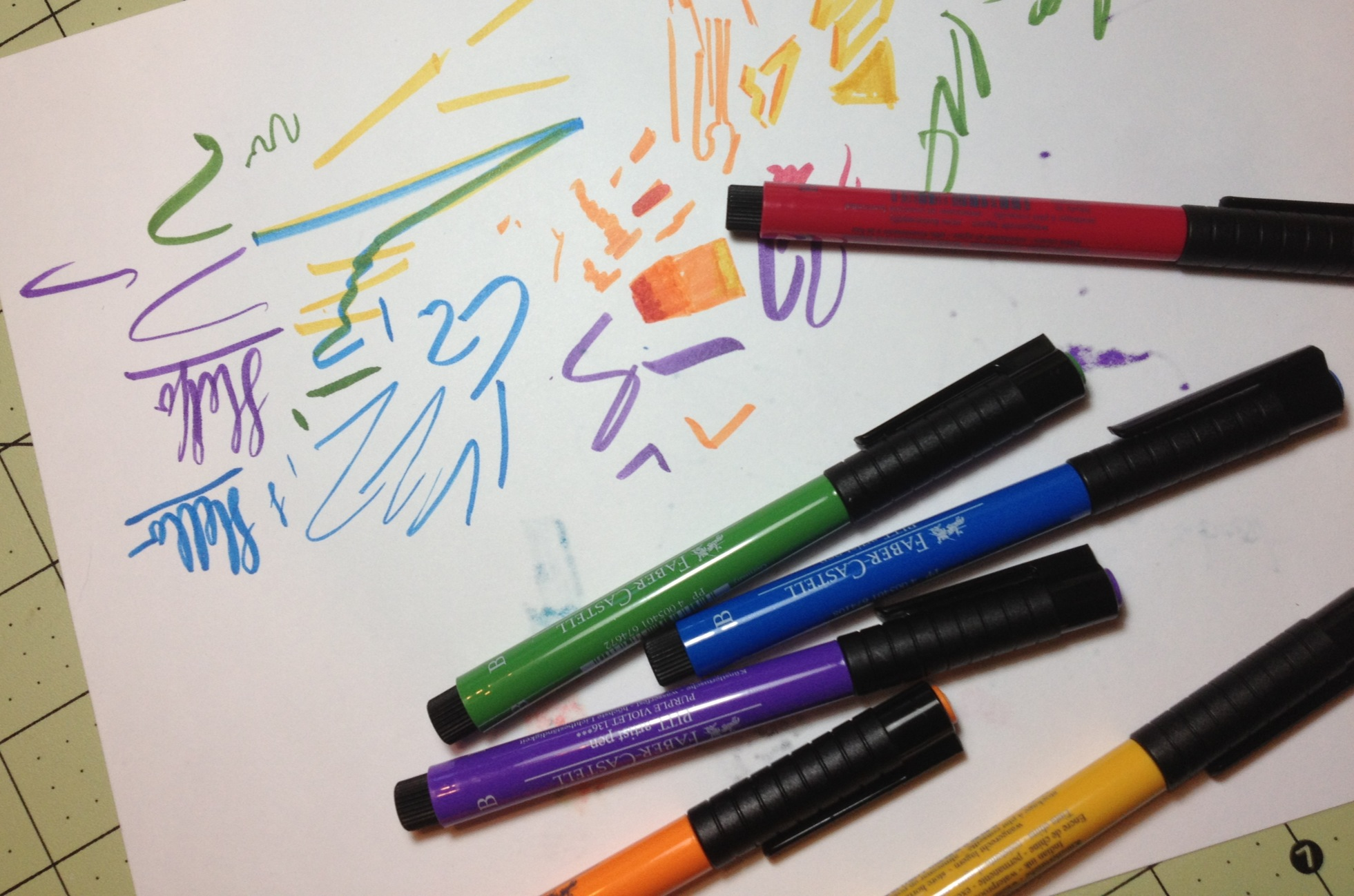 Faber castell art supply critic